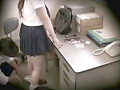 La colegiala Caught Stealing chantajeados 09