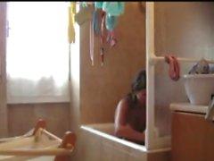 Schritt Schwester Badezimmer Blowjob