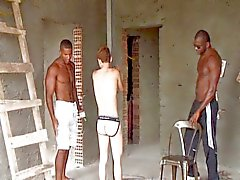 Twink Bondaged Door Black ... eh Pi.mp4