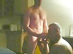 Amateur Straight Twink Tries Gay Sex With Older Man