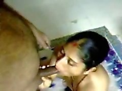 Insatiable Indian wife knows how to give good head