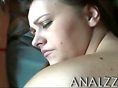 Filthy chick Alisa Ford first time anal sex in doggystyle