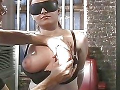 Punishment on tender titties