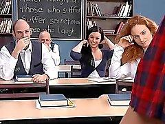 Schule Mädchen Lehrer Anal