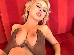 Mandy Dee drilled with black cock