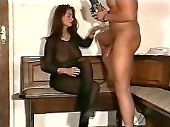 Jeune fille cornée vidéo