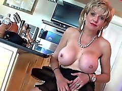 Unfaithful british milf lady sonia flaunts her giant natural