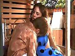 Krista Allen seen in hot scene as she making out with some