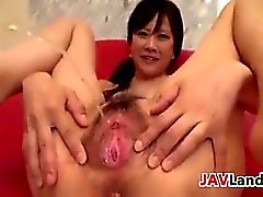 Close Up Of A Japanese Girl Squirting