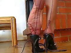 Nylon de Stocking Teasing