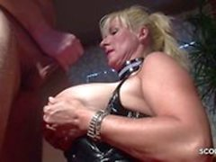 German Monster Natural Tits MILF Seduce Fuck
