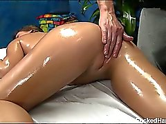 18 year old Abby gets fucked hard from behind by her