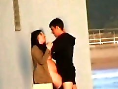 Crazy Horny Teens Fuck In Public