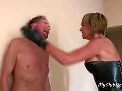 Hot Slave Gets a Lot of Slaps