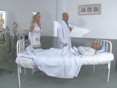 Teen Nurse Mandy fucks her Patients