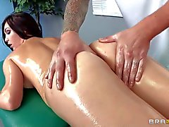 Holly Michaels is masseur's first client that is ready to