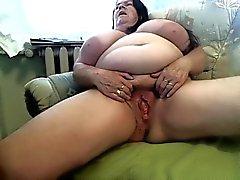 Fett farmor naken with