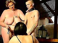 Öffentliche Demütigung Sklave Männlicher Stefanie's Erziehung