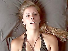 Hysterical Orgasm Face - Ashley Masturbating #1