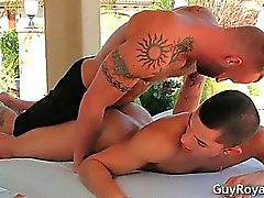 Le massage And traction subite Ethan Slade et de de Derek part3