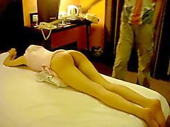 Hard spanking Chinese girl 1