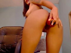 grand fist anal fesses sur Babe sexy latina
