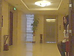 Audrey crossdressing walk in hotel