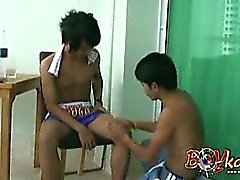 Thai Cock Boxing Massage