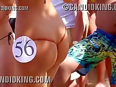 Sexy Latina with best butt ever at a bikini contest!