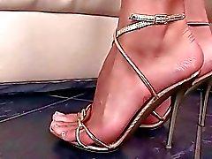 Sexy fétichisme des pieds porno