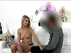 Skiny model fucked on casting couch