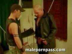 Manhandled in Leather