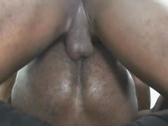 Hot Gay Black Men Intiimissä anaali seksi ja asslcking