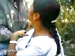 Indian Desi housewife fucking hard in park