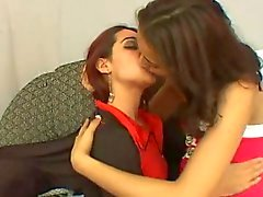 two girls sexy kisses 2