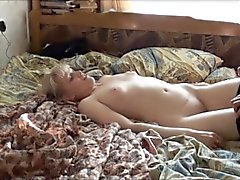Lustful blonde wife gets pounded hard by her horny husband