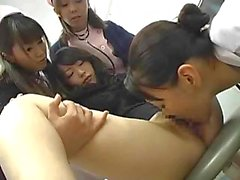 Asian Nurses Make Their Patient Squirt