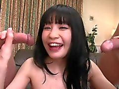 The hole of this Japanese whore has been explored by toys and cocks