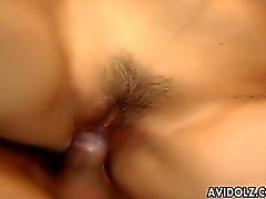 Enticing Japanese hottie loves being boned ha
