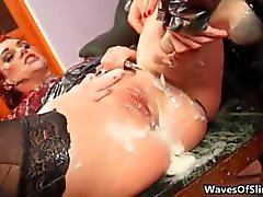 nasty redhead babe going crazy getting
