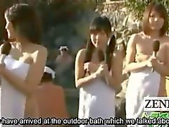 subtitle cmnf japanese hot spring reporters report nude