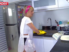 LETSDOEIT - Hot Colombian Maid Gets Banged at Work