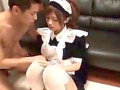 Sexy asian slut goes crazy riding a cock part4