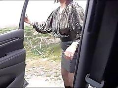 Amateur Ehefrau Auto Dogging