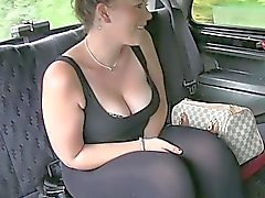 Pretty amateur nailed in public place